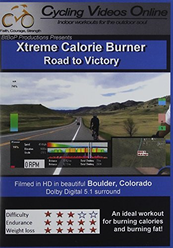Xtreme Calorie Burner! Road to Victory. Boulder Colorado. Indoor Cycling Training / Spinning Fitness and Workout Videos by Paul Gallas