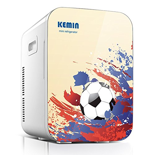 JCOCO 20L double réfrigération voiture réfrigérateur mini petit réfrigérateur petit ménage mini dortoir voiture maison double usage froid et chaud (Couleur : 1)