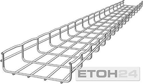 Cablofil CM000081 Bandeja porta - Cable (Bandeja portacables recta, Horizontal, 8100 mm²,...