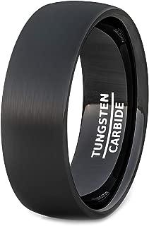 matte black ring mens