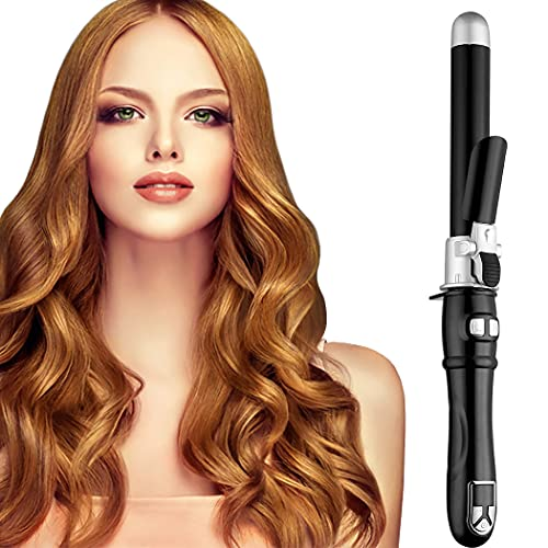 Hair Curling Wands Auto Curling Irons Automatic Hair Curler 28mm Curl 1inch Curl Hair Waving Irons Hair Styling Irons Hair Crimper Hair Waver 30s Instant Heat Wand Waver Dual Voltage 110v-220v