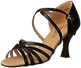 Capezio Women's Rosa 2.5' Social Dance Shoe,Black,5 M US