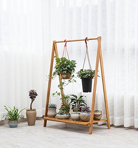 etagere plante Fleur Stand / fleur Pots Moderne Minimaliste Solide Fleur En Bois Stand Type De Sol Multi-couche Fleur Étagère Balcon Fleur Pot Pot Rack Salon Rack ( taille : 70*38*90cm )