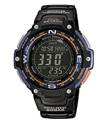 Casio Herren-Armbanduhr Collection Digital Quarz Resin SGW-100-2BER
