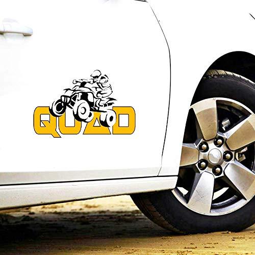 Mode Auto Aufkleber Dekoration Quad Fahrrad Motorrad Aufkleber für Mazda 3 Subaru Golf 4 Mini Cooper Mitsubishi, 15 cm * 10 cm