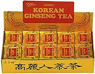 Prince Of Peace Instant Korean Panax Ginseng Tea - 100Count - PACK OF 2