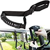 Auto Cane Car Grab Handle Adjustable Standing Aid Safety Handle Vehicle Support Portable Nylon Grip Handle Car Assist Device Black