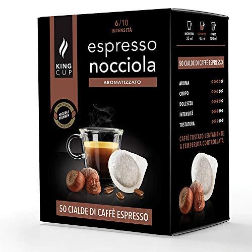 Caffè con aroma Nocciola - 50 Cialde compatibili E.S.E. mm 44