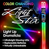 Light Stix LED Light Up Drumsticks (Color Change)| Changes Color Every Beat!