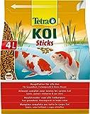 Tetra Tetrapond, Multicolore Delights Mangime per Pesci Pond Koi Sticks lt. 4-Accessori per laghetti, Unica, 4000 unità