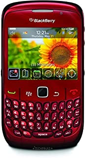 BlackBerry Curve 9300 3G 560 MB - Red Smart Phone