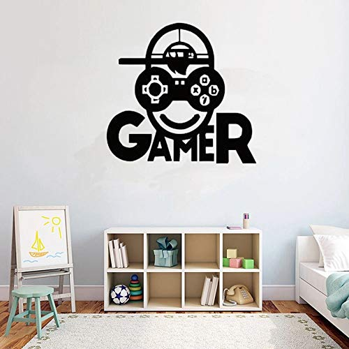 Wall Video Wall Game Launch Controller Fort Bedroom Wall Art Player Vinyl Pattern
