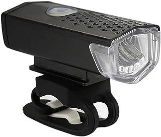 Greneric faro delantero de bicicleta fácil de montar, compatible con USB recargable, 10 horas, luces traseras delanteras y...