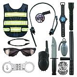 LOVIVER Polizei Kostüm Zubehör Party Rollenspiel Spielzeug