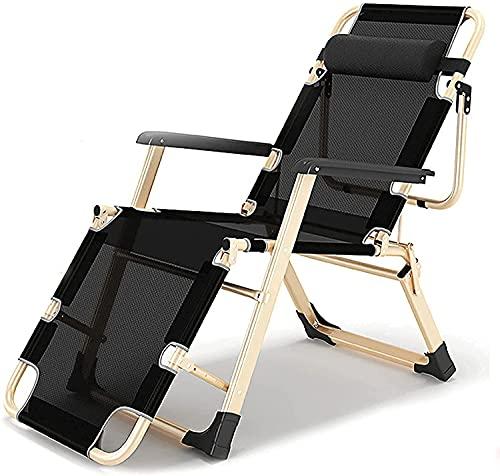 Sedie da Campeggio Portatili EORZXK, Portable Support 330Lbs Sdraio da Spiaggia, Imbottito gravità Zero Sedia, Patio reclinabile, Sdraio da Spiaggia Sedia a Sdraio for Esterni Giardino di casa, Sedia