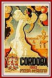 PostersAndCo Cordoba Feria 1952 Rixf-Poster/Kunstdruck, 60