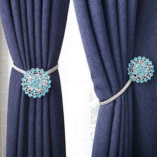 Wyaenghai gordijn Tie een paar magnetische gordijnen slaapkamer woonkamer gordijnsnoer elastische klemmen zonder boren gordijn gespen