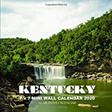 Kentucky 7 x 7 Mini Wall Calendar 2020: 16 Month Calendar