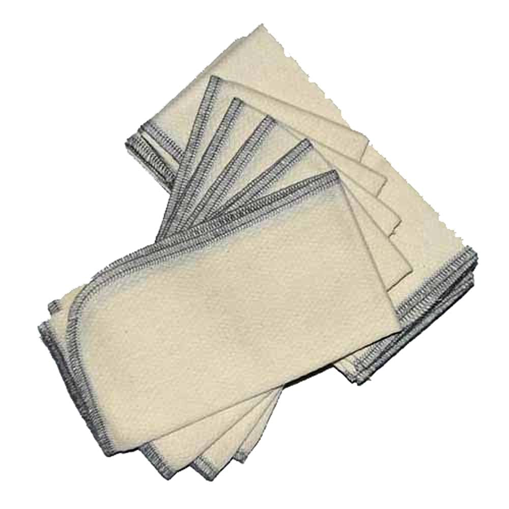 1 Ply Organic Cotton Paperless Industry No. 1 Towels Sew Set Indefinitely of Inches 14x14 10