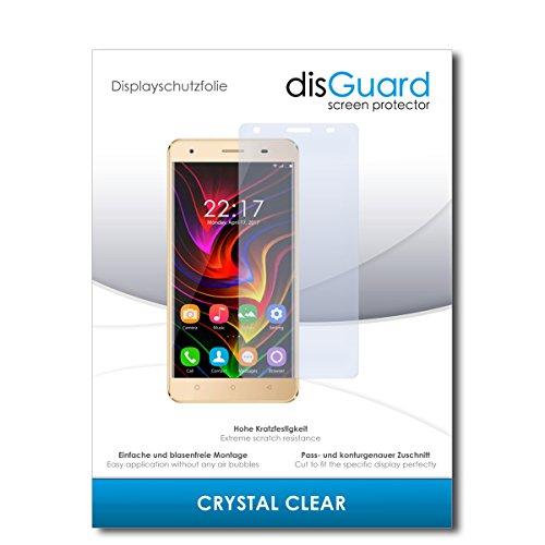 disGuard Schutzfolie für Oukitel C5 [2 Stück] Kristall-Klar, Bildschirmschutzfolie, Glasfolie, Panzerglas-Folie, Bildschirmschutz, extrem Kratzfest, Schutz vor Kratzer, transparent