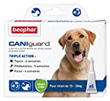 Beaphar - CANIguard, pipettes antiparasitaires, anti-puces, anti-tiques et...