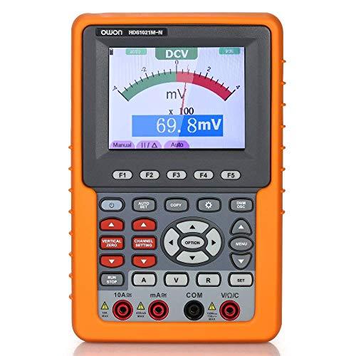 Nologo LZP-PP Präzises Instrument HDS1021M-N Digital Storage Einkanal Handheld-Oszilloskope und Multimeter 20MHz Bandbreite 500M / s Abtastrate