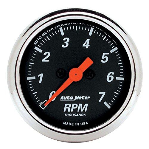 Auto Meter 1477 Designer Black Dash Electric Tachometer