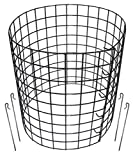 Erva Bunny Barricades 10pk - Sturdy & Easy to Assemble - Protect Your Plants, Vegetables and Shrubs from Pests - Made in The USA