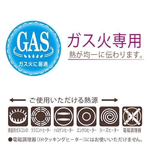 北陸アルミニウム『GASセンレンキャストフライパン20cm』