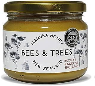 Bees & Trees 100% Raw New Zealand Manuka Honey (medium activity), 380gm