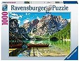Ravensburger Puzzle, Puzzle 1000 Pezzi, Lago di Braies - Dolomiti, Puzzle Adulti, Puzzle Paesaggi, Puzzle Ravensburger - Stampa di Alta Qualità, Esclusiva Amazon