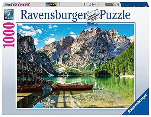 Ravensburger Puzzle 1000 Teile - Pragser Wildsee, Dolomiten, Südtirol - Puzzle für Erwachsene und Kinder ab 14 Jahren, Puzzle mit Landschafts-Motiv, Amazon Sonderedition [Exklusiv bei Amazon]