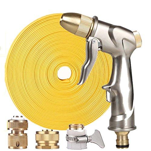 Roscloud@ Pistola de pulverización | Pistola de agua Auto Crenova HN-01 - Metal 100% - Conjunto de control de flujo simple - Gatillo ergonómico - Boquilla de alta presión para lavado de autos