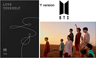 BTS Love Yourself Tear 3rd Bangtan Boys (Y Ver.) Album CD+Official Poster+Photobook+Photocard+Standing Photo+Gift (Extra BTS 6 Photocards and 1 Double-Sided Photocard Set)