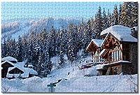 BEI YU MAN.co カナダブリティッシュコロンビア州大人向けジグソーパズルキッズ1000ピース木製パズルゲームギフト用家の装飾特別な旅行のお土産