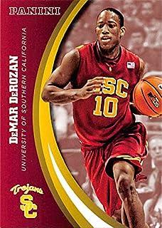 DeMar DeRozan basketball card (USC Trojans) 2015 Panini Team Collection #36