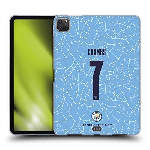 Head Case Designs Licenciado Oficialmente Manchester City Man City FC Laura Coombs 2020/21 Kit Hogar Mujer Grupo 2 Carcasa de Gel de Silicona Compatible con Apple iPad Pro 11 (2020)