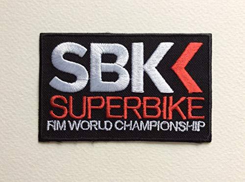 BLUE HAWAI Ecusson Patches aufnaher Toppa termoadhesiva–SBK Superbike 9* 5,5cm