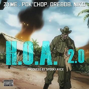 H.O.A. 2.0 (feat. Pok'chop, Dre808 & Niko)