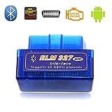 ccsfrgtrh ELM327 - Escáner para Coche OBDII OBD2 Bluetooth para Dispositivos Android V2.1