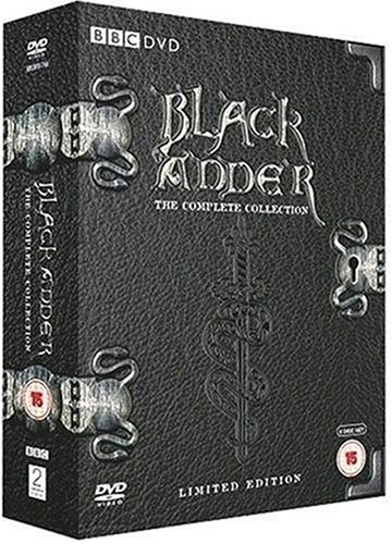 Black Adder Series 1-4 Reino Unido DVD