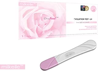 Milkelle Ovulation Test, 3 Count, Fast and Accurate Results, Product of USA