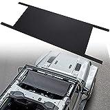 Hamaca de techo de coche para J-eep Wrangler YJ, TJ, JK & JKU JL 1987-2020 resistente al agua para cama de coche, color negro