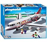 Playmobil - 4310 - Jeu de construction - Commandant / passagers / avion