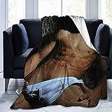 Jared Padalecki Super Sam Winchester Natural Jensen Ackles Dean Winchester Misha Collins Super Soft Blanket, Light Plush Bed Blanket, Suitable for Adults and Children to use 50' x40