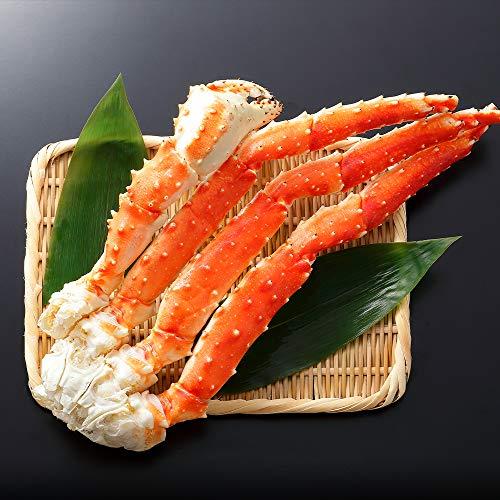 蟹 ハサミ タラバガニ 足 1kg 4L 1-2肩3-6本前後 約2-3人前 カニ はさみ 北国からの贈り物
