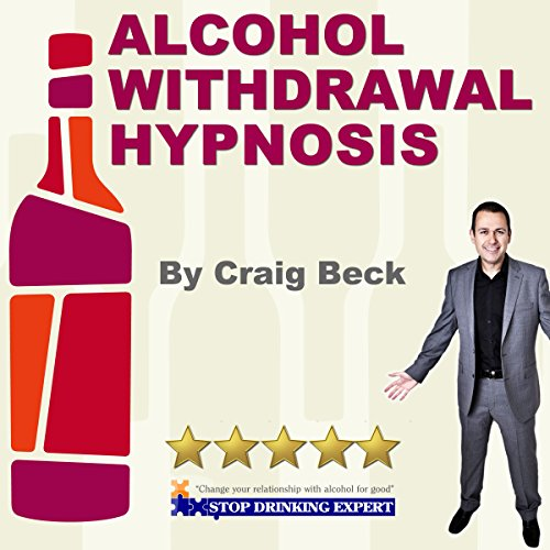 Alcohol Withdrawal Hypnosis audiobook cover art