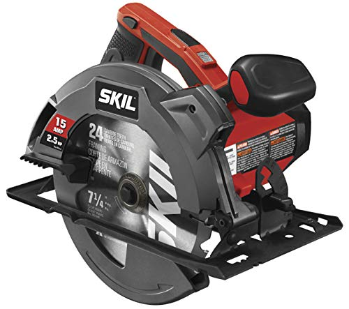 SKIL 5280-01 Circular Saw with Single Beam Laser Guide,...