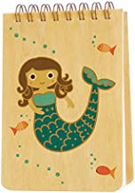 product image for Night Owl Paper Goods Mabel Mermaid Notepad with Real Wood Covers