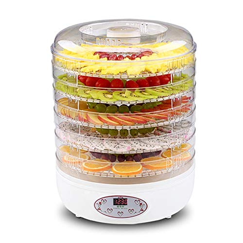 250w Professional Food Dehydrator Machine, Best Electric Multi-Tier Home Food Meat Beef Jerky Fruit Vegetable Dehydrator Dryer With 5 Adjustable Trays